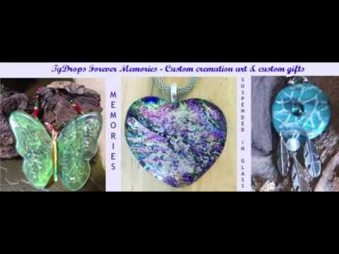 TyDrops Forever Memories- Memories Suspended in glass