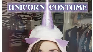 Diy~ Unicorn Halloween Costume & Makeup Look!! Thumbnail