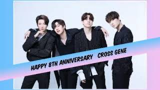 Happy 8th Anniversary CROSS GENE 크로스진