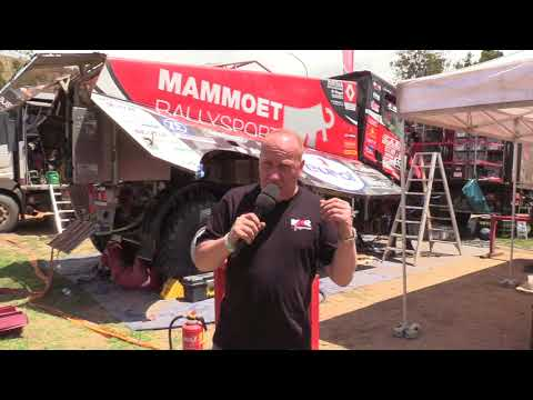 Interview Mario Kress about using Eurol Specialty Lubricants at Mammoet Rallysport