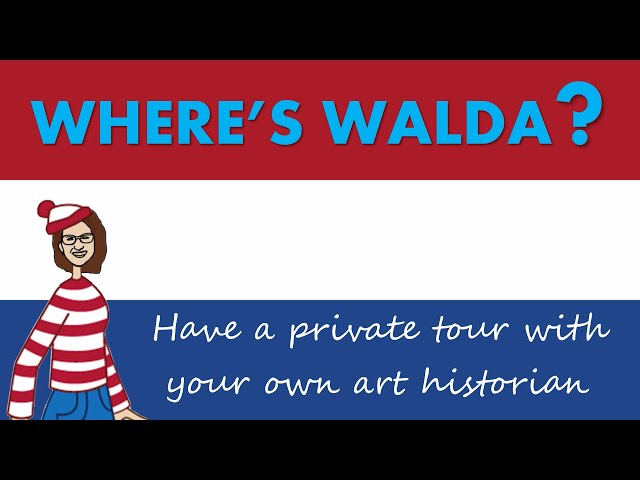 WHERE'S WALDA?