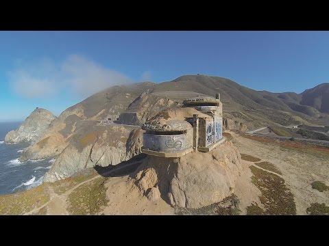 WWII Bunker at Devil's Slide San Francisco