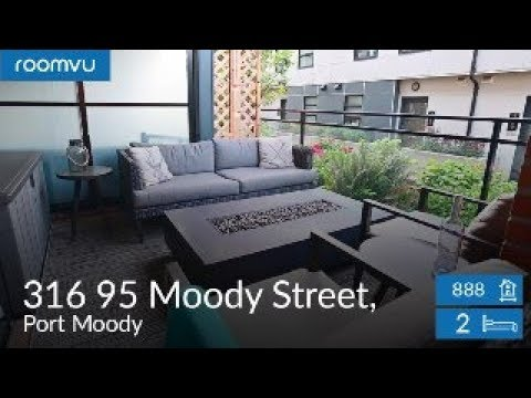 Gorgeous 2BD 2WR Condo in the Heart of Port Moody!