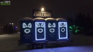 Musical Porta Pottys will light up your christmas