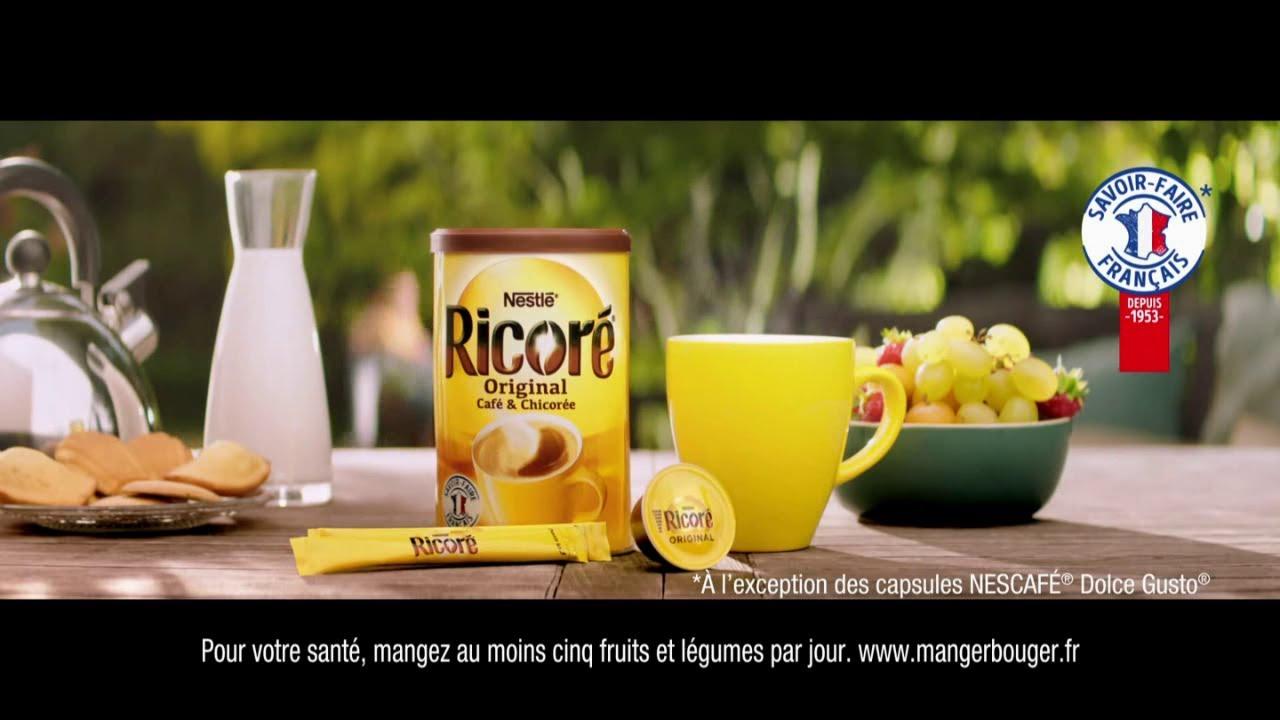 """Musique de la pub Ricoré Original Nestlé """"un petit goût de bonne humeur""""  2021"""