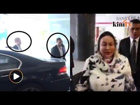 Rosmah, Riza, Norashman tiba di JSJK beri keterangan