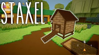 Staxel #07 | Hühnerstall | Gameplay German Deutsch thumbnail