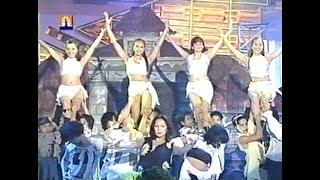 MTB Halloween Dance (ABS-CBN) - Megan, Gem, Melisa & Michelle