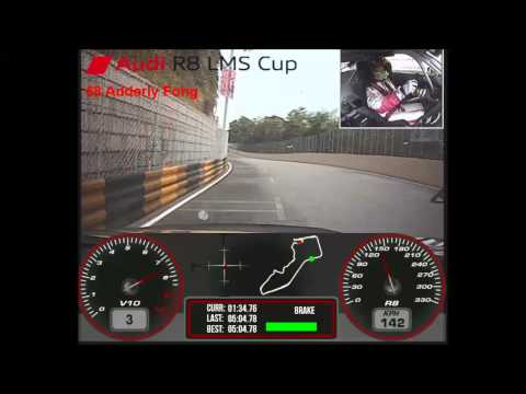 60th Macau Grand Prix - Adderly Fong - 2013 Audi R8 LMS Cup - Qualifying