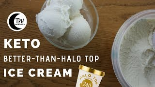 The Best Keto Vanilla Ice Cream | Low-Carb Halo Top Dupe