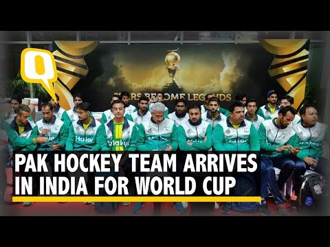 Pakistan Team Arrives in India to Participate in Hockey World Cup 2018