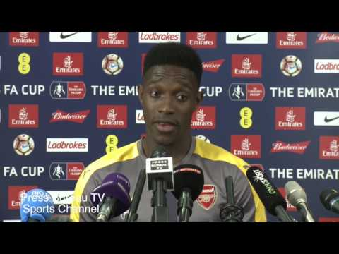 Danny Welbeck pre Arsenal vs Chelsea FA CUP Final