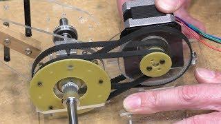 Mini 6-axis robot arm part 3
