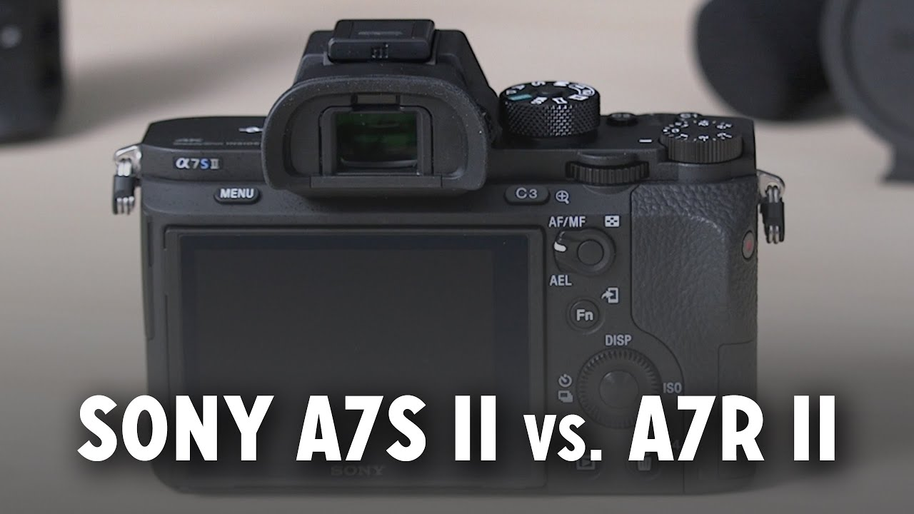 Sony a7S II vs  a7R II — Which is Better for Filmmaking & Video Production?