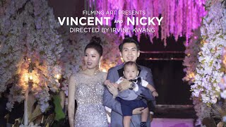 Filming Art | Vincent & Nicky_Full Highlight by Signature Director