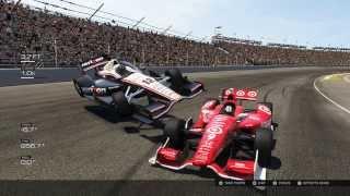 IndyCar crash at Indianapolis Motor Speedway Forza Motorsport 5 Xbox One