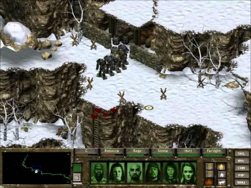 Fallout Tactics végígjátszás: Cheyenne Mountain - YouTube
