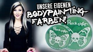 Unsere EIGENEN Bodypaintingfarben 😍😍😍 || DE