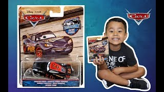 DISNEY CARS THOMASVILLE RACING LEGENDS JACKSON STORM REVIEW/UNBOXING GIVEAWAY