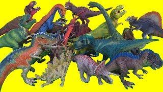 쥬라기월드 슐라이히 공룡 피규어 장난감  티렉스 프테라노돈 스테고사우루스 트리케라톱스 브라키오