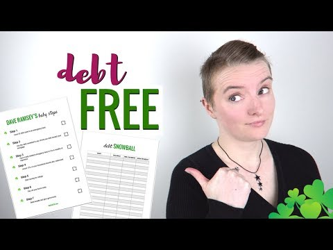 How To Get Out Of Debt & Get Rich with Dave Ramsey's Baby Steps (Checklist & Snowball Sheet)