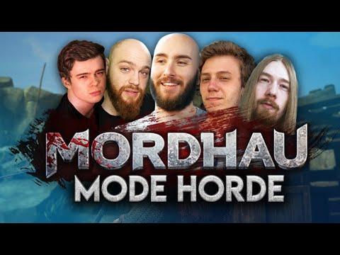 Vidéo d'Alderiate : [FR] ALDERIATE, CHAP, KENNY, SOULNSANE & HEYAR - MORDHAU GAMEPLAY - MODE HORDE