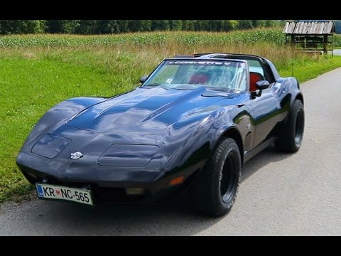 Chevrolet Corvette 350 cu (5.7 l) Small-Block V8 1978  review