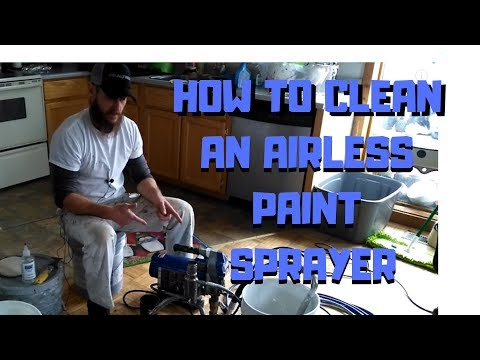 How To Clean An Airless Paint Sprayer Fast