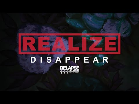 REALIZE - Disappear (Official Music Video)