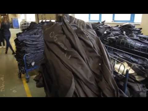 How are jeans made? Mavi Factory Tour - TURKEY