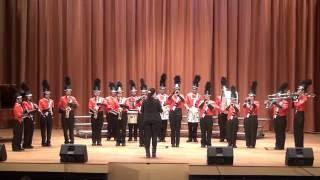 學生表演 - 步操管樂團