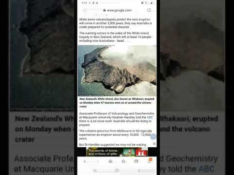 400 Hundred Active Volcanoes In Australia....Predictive Programming Or Fear Porn!!