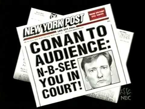 Conan Sues the Audience - 6/27/2003