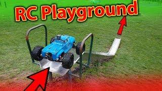 FUN RC Car Playground BASH - Arrma Notorious + Power HD Servo Destruction TEST