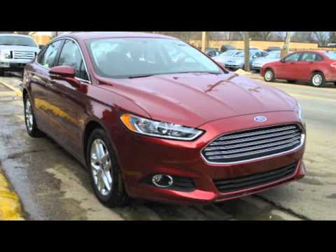 Ford Fusion 2013 >> NEW 2013 Ford Fusion SE -- Bordeaux Reserve Metallic Red - YouTube