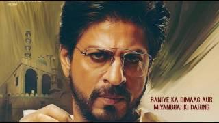 Raees Trailer | Dialogues | Shah Rukh Khan | Mahira Khan | Nawazuddin Siddiqui | 25th Jan 2017
