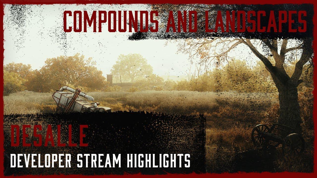 Desalle -  Compounds And Landscapes I Developer Live Stream Highlight