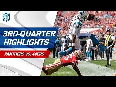 Panthers vs. 49ers Third-Quarter Highlights | NFL Week 1