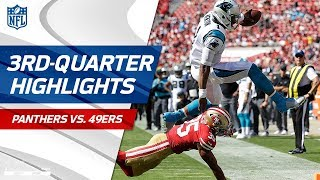 Panthers vs. 49ers Third-Quarter Highlights | NFL Week 1