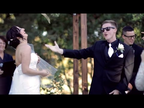 Groom Switches up Traditional Wedding Vows, Performs Love Songs Instead