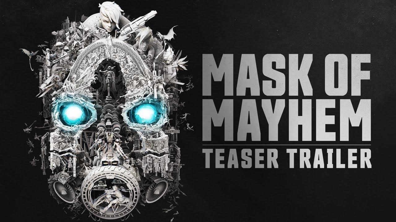 Borderlands 3 Teaser Trailer Mask Of Mayhem Youtube