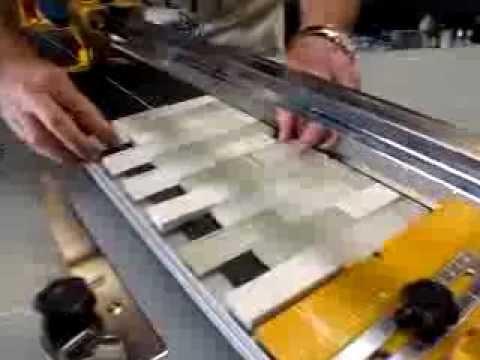 03-440Sb36 Cutting Glass Tile - Youtube
