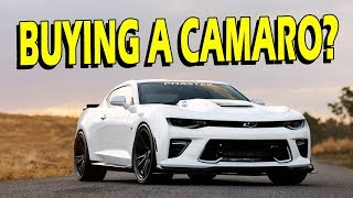 Buying a Camaro? Watch This Video First!