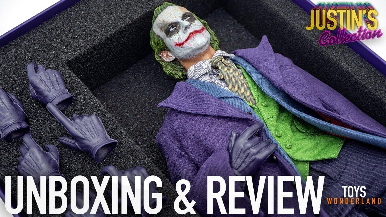 Joker Batman The Dark Knight 1/6 Scale Figure Daftoys Unboxing & Review