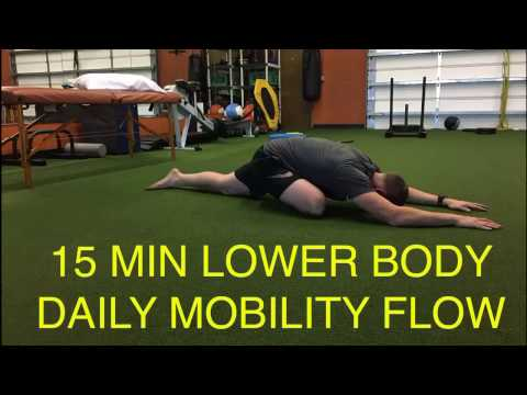 Golf Mobility- 15 Min Lower Body Daily Mobility Flow