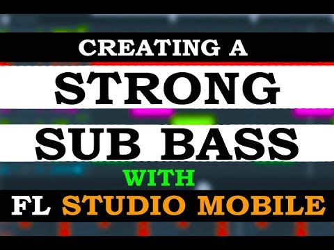 How to create a strong Sub Bass using FL Studio Mobile ONLY! (NO SAMPLING)  [FREE PRESET]