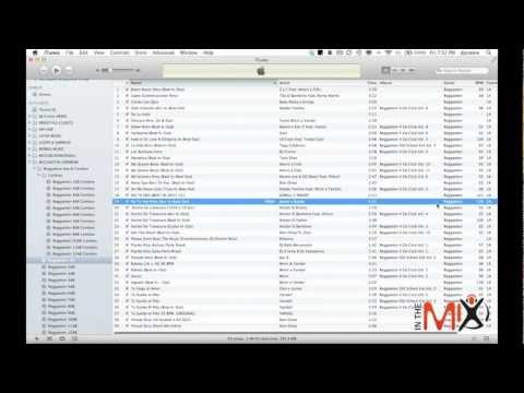 In The Mix Tips: How to organize your music in iTunes
