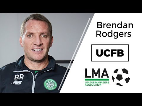 UCFB-LMA Insight Series: Brendan Rodgers