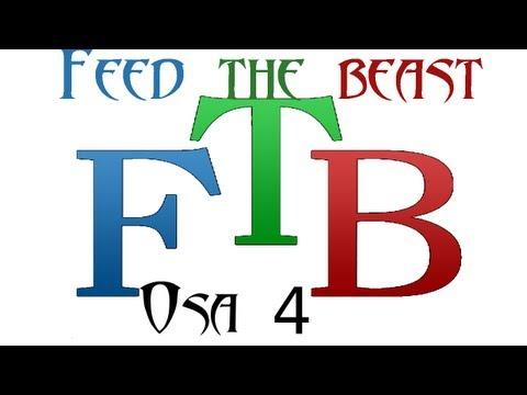 Feed the beast - Osa 4 - Tehdään oil refinery (joka räjähti :3)