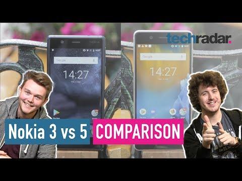 Nokia 3 Vs Nokia 5 comparison